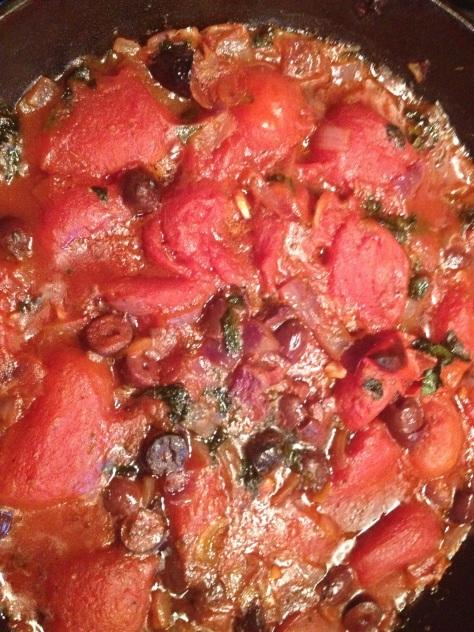 Roasted Tomato Spaghetti Sauce