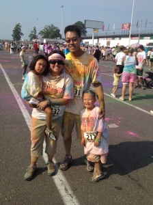 The Color Run: Finish Line (Photo Copyright Nutrition Map 2012)